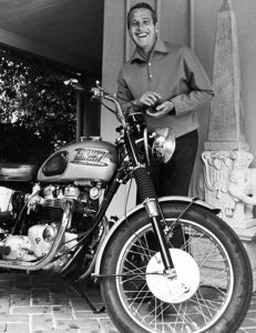 triumph-bonneville-with-paul-newman