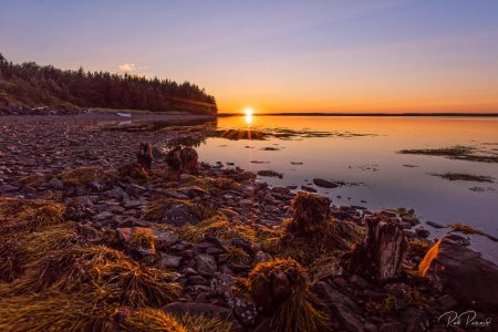 Sunset at Janvrin Island
