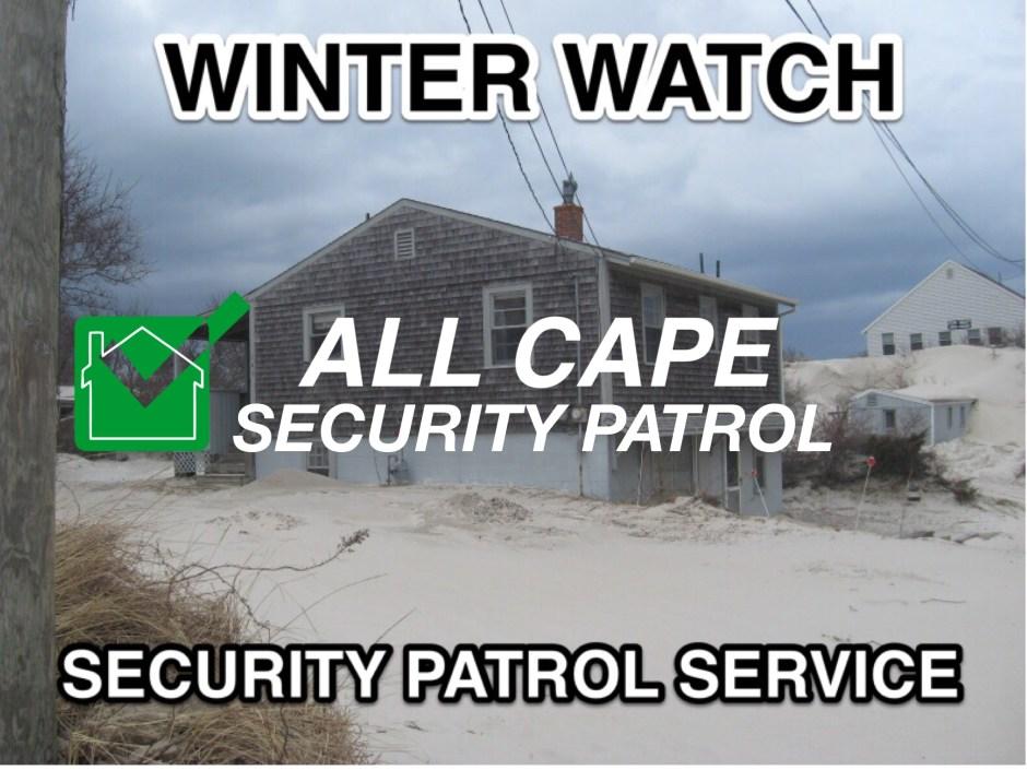Cape Cod winter watch
