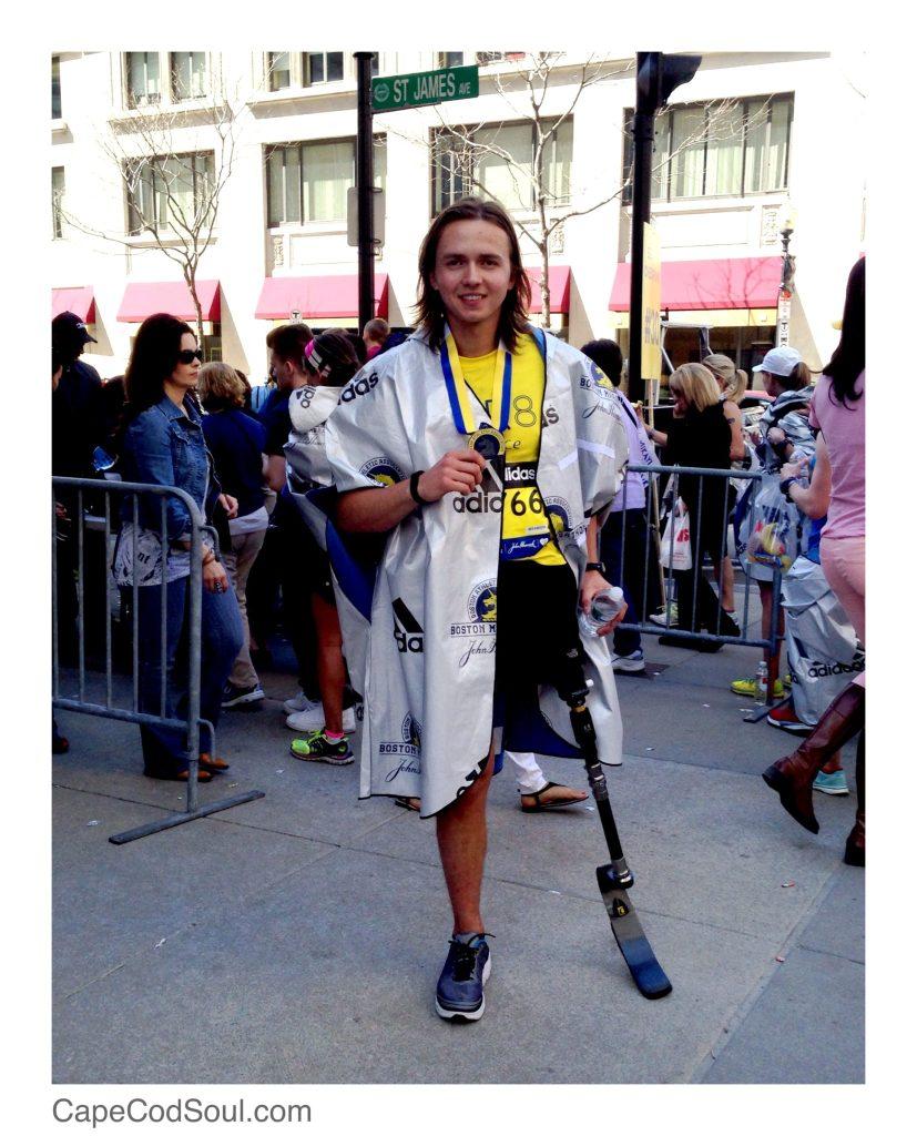 Eddy Lychik Boston Marathon