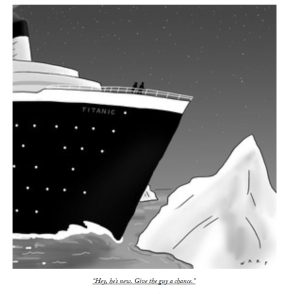 newyorker quote of the week.
