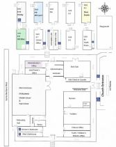 map to classrooms