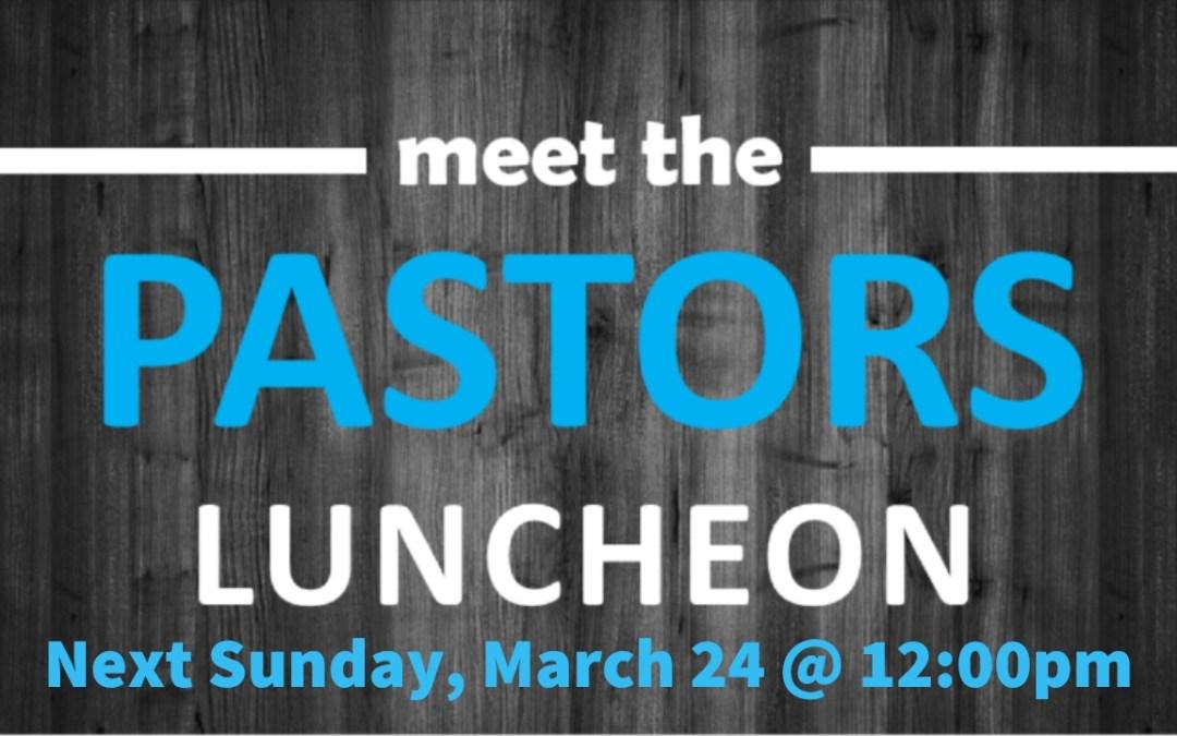 Meet the Pastors