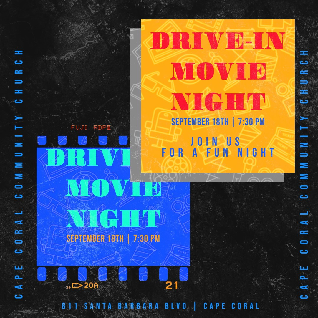 Drive In Movie Night