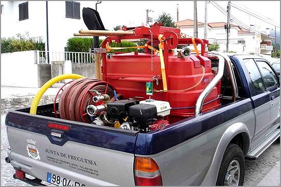 Kit de Primeira Intervenção  combate incêndios - Juntas de Freguesia