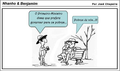 Cartoon – José Chapeira
