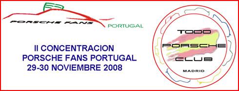 Clube Porsche Fans Portugal e Todo Porsche Madrid