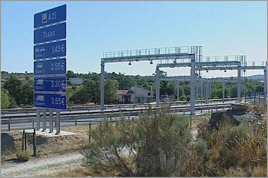A25 - Aveiro-Vilar Formoso - Guarda - Pórticos - Capeia Arraiana