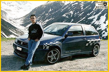 Rogério Caramelo Madeira (foto tirada na montanha de Davos) - autoria: José Carlos Lages