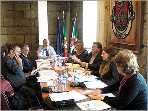 Reunião executivo Câmara Municipal Sabugal - Capeia Arraiana