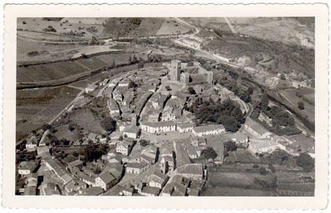 Fotografia aérea - Sabugal - 1941