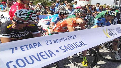 Retrospectiva 2012 - 7.ª Etapa da 74.ª Volta a Portugal em Bicicleta - Sabugal - © Capeia Arraiana