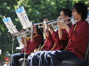 Actuação da Orquestra Ligeira da Casa Pia (CED D. Maria Pia)