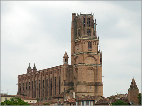 Catedral da cidade de Albi - Sul de França - Capeia Arraiana