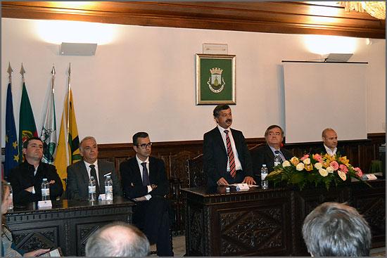 Anselmo Sousa discursa na sessão solene do Dia do Concelho