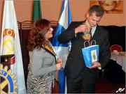 Homenagem Coronel José Serra - Rotary Club Odivelas - Confraria Marmelada Odivelas - Capeia Arraiana