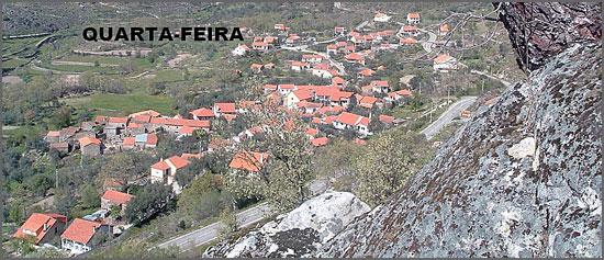 A actual aldeia da Quarta-Feira