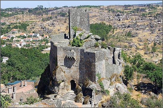 O castelo de Sortelha