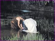 Recriação da Paixão de Cristo - Baptismo de Jesus - Capeia Arraiana