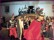 Recriação da Paixão de Cristo - Jesus é conduzido a Pilatos - Capeia Arraiana