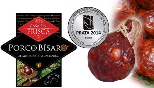 Prémio Bucho 2014 Prata - Casa da Prisca - Trancoso - Capeia Arraiana