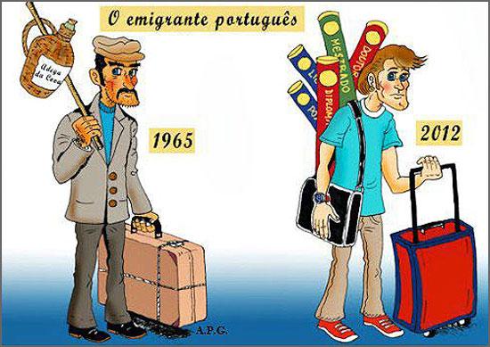 Os novos emigrantes