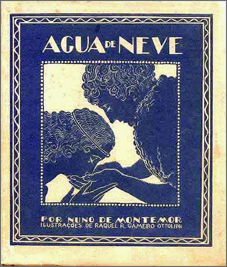 O livro «Água de Neve» de Nuno de Montemor