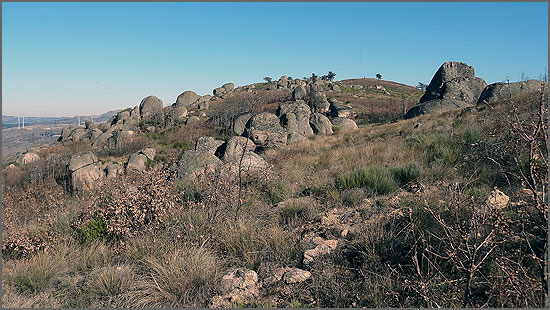 Belas formações rochosas