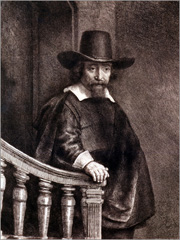 Ephraim Bueno numa gravura de Rembrandt (1647) - Capeia Arraiana
