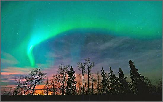 Aurora boreal - há 77 anos o fenómeno natural assustou as populações