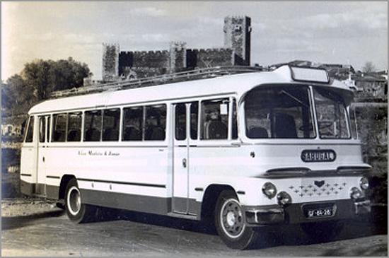 Autocarro da Viúva Monteiro - Joaquim Gouveia (Foto: D.R.)