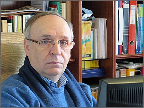 Prof. José R. Pires Manso, o autor do estudo sobre a Emigração na Beira Interior