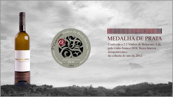 Vinho Branco 2014 da Adega 2.5 - Capeia Arraiana