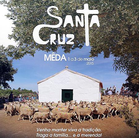 Mêda festeja a Santa Cruz