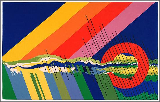 Paisagem Possível, pintura de António Charrua