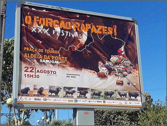 Aldeia da Ponte recebeu mais uma edição do festival do forcão