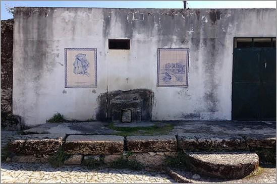 Chafariz público nas Termas do Cró - Rapoula do Côa - Sabugal
