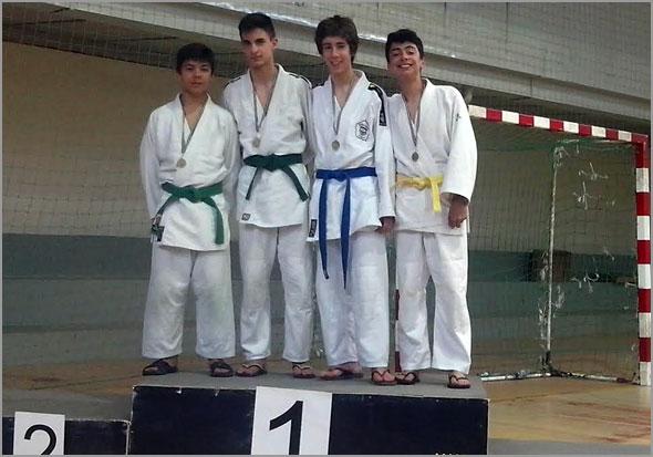 Dois judocas do Sporting Clube do Sabugal no pódio - Capeia Arraiana