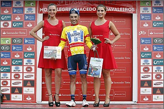 Rui Vinhas conquistou a camisola amarela