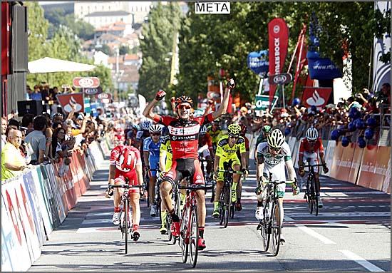 Vicente de Mateos venceu a etapa