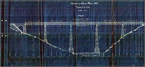Aspecto da anterior Ponte de Ferro