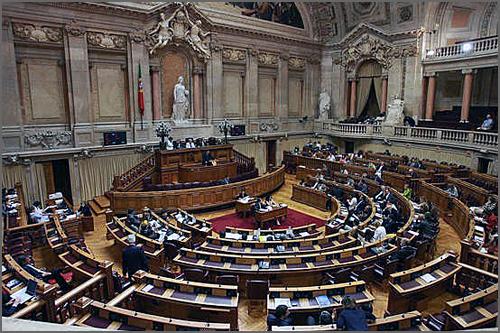 Parlamento num dia com pouca assiduidade