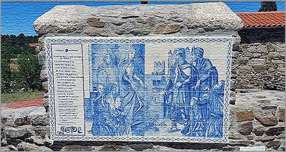 «Milagre das Rosas da Rainha Santa Isabel aconteceu aqui no Largo do Castelo», confirma José Chapeira - Sabugal - Capeia Arraiana