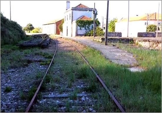 Estação do Barracão - Sabugal na Linha da Beira Baixa - Capeia Arraiana