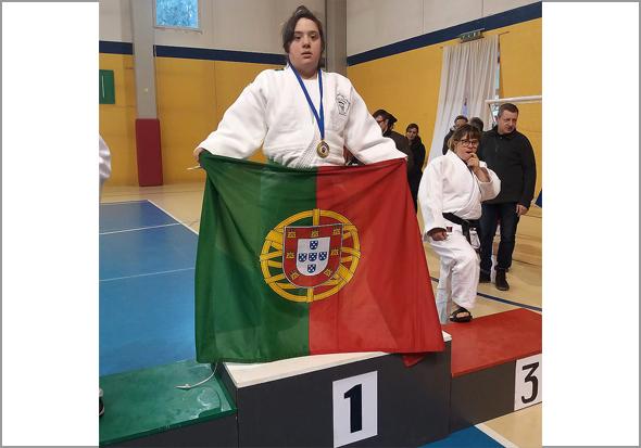 Maria Ribeiro, judoca do Sabugal, campeã da Europa - Capeia Arraiana