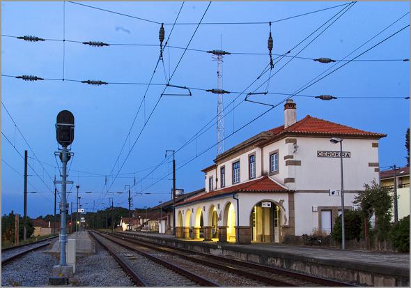 Estação da Cerdeira na Linha da Beira Alta - Capeia Arraiana