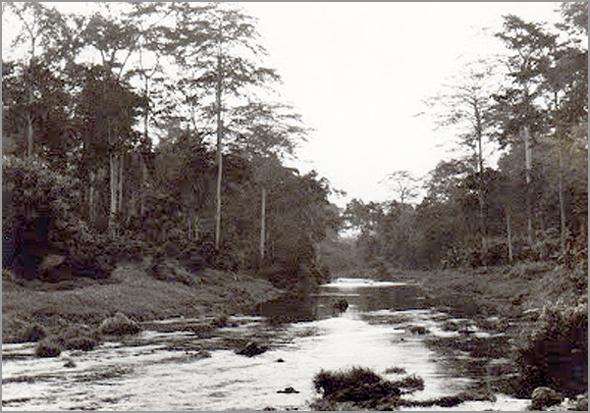 Rio Luáli (Foto do nosso amigo médico em 1973) - Capeia Arraiana