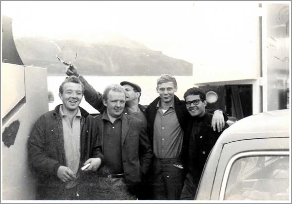 Marinheiros que nos levaram de Tromso a Skaidi - Capeia Arraiana