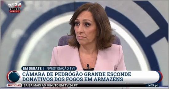Reportagem de Ana Leal da TVI sobre os donativos para Pedrógrão Grande - Capeia Arraiana