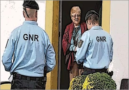 A experiência de apoio da GNR a idosos em isolamento é muito útil